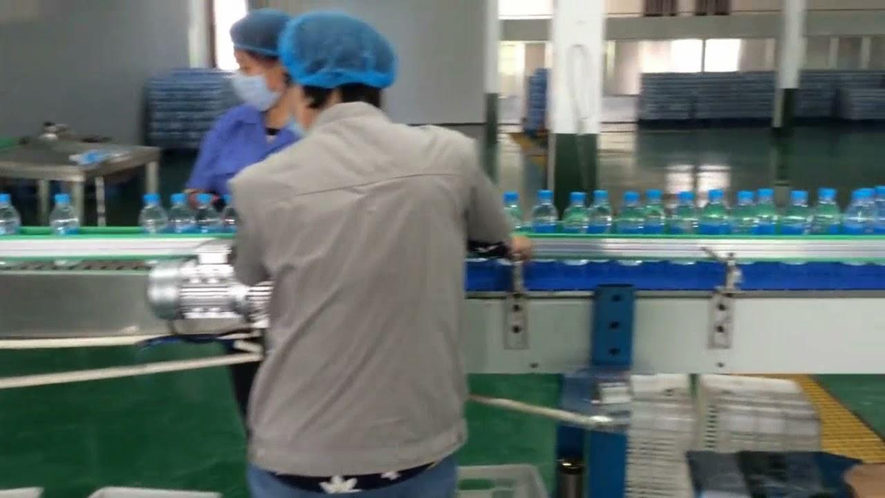 Garisan pengisian botol air automatik