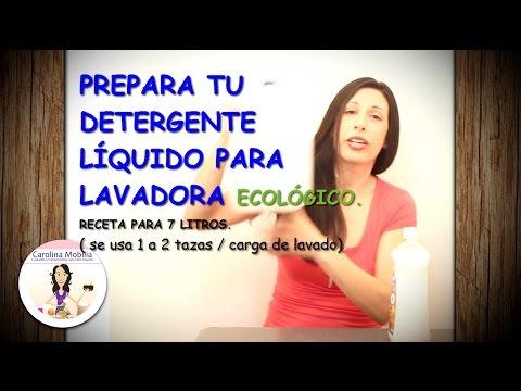 DETERGENTE PARA LAVADORA ECOLÓGICO