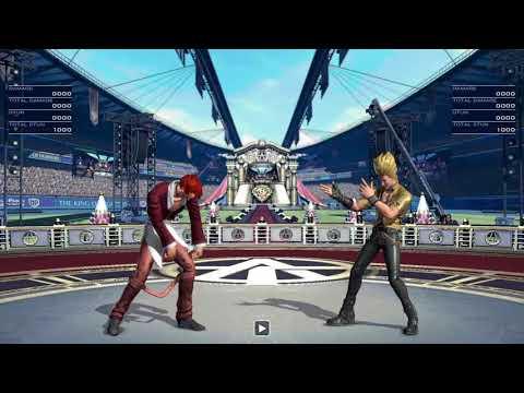 KOF XIV Casual Match in Shotbar Lucy
