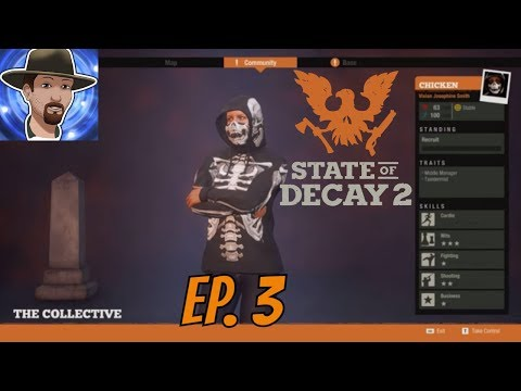 MY FIRST HOSTILES!- STATE OF DECAY 2 EP. 3 - GROUP DAY 3