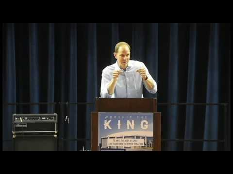 Syracuse University Basketball Assistant Coach Mike Hopkins Speaks At Worship The King