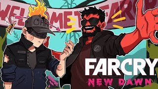 WELCOME TO THE PARTY! | Far Cry New Dawn Funny Moments (w/ Ohmwrecker)