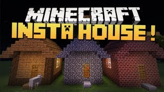 Minecraft Mody - INSTA HOUSE 1.4.5 ! (Przenośne Budowle !)