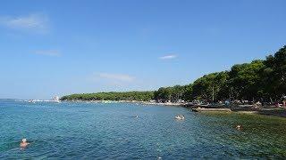 2018 Chorvatsko, Biograd na Moru, kemp Soline