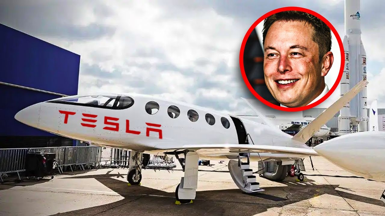 Is Elon Musk Working On An Electric Plane? - YouTube