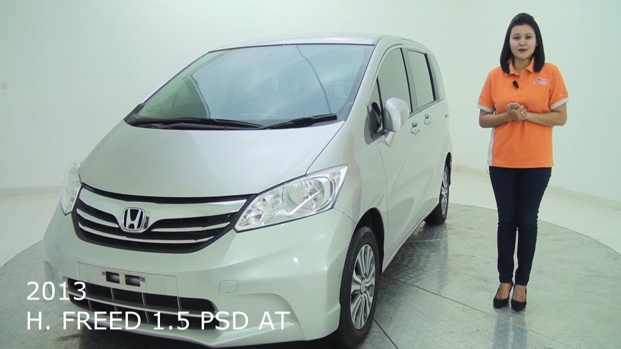 mobil bekas honda freed 1.5 psd matic -2013 - youtube