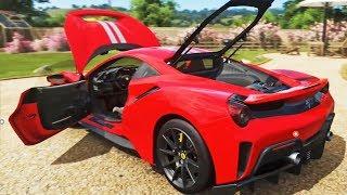Ferrari Pista na drift!!  Forza Horizon 4