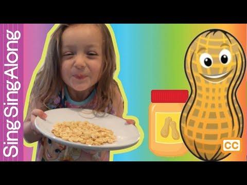 The Peanut Butter Song! | Nursery Rhymes | Canciones Infantiles | Kindergarten Kids Education