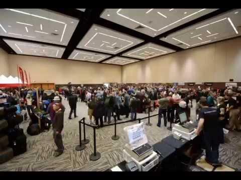 Kenmore Camera Digital Expo 2014 - Camera 1 Timelapse - YouTube