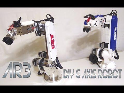DIY Low Cost 6-Axis Desktop Robot