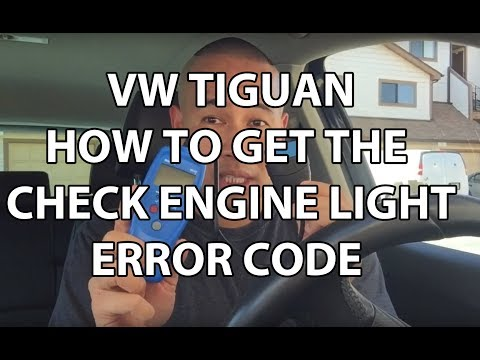 How to Get the CHECK ENGINE Light Error Code - Volkswagen Tiguan Atlas Beetle GTI Audi More