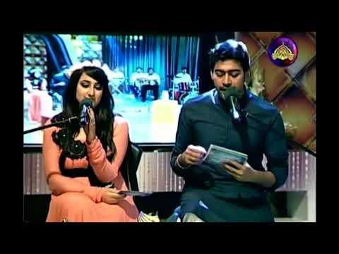 Teray Bheegay Badan ki Khushboo live HD by Ali Abbas in Reema Khan Show