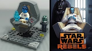 LEGO Star Wars Rebels/Expanded Universe - Grand Admiral Thrawn Mini MOC - Review