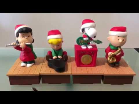 2011 Peanuts Hallmark music band