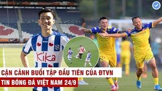 VN Sports 24/9 | Đoàn Văn Hậu tái hiện pha tắc bóng đẳng cấp TG trong lần đầu đá chính tại Hà Lan