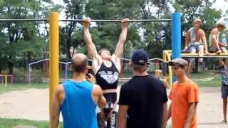 Чемпионат по Street Workout в Запорожье 27.07.2013