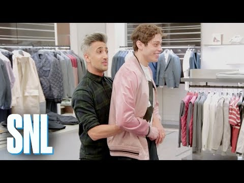 Queer Eye's Tan France Takes Pete Davidson Shopping  SNL