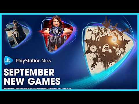 PS Now New Games - September 2020   Playstation Now