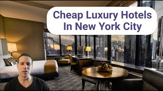 Cheap Luxury New York City Hotels | Save Money Booking Hotels | Trekeffect