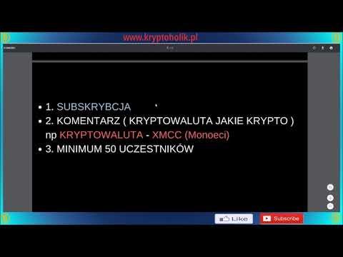 KONKURS KRYPTOWALUTOWY  # 1000 sub = 1000 PLN ZA FREE, GIVEAWAY