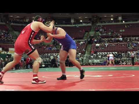 Wadsworth's Jordan Earnest wins Division I 285-pound state championship