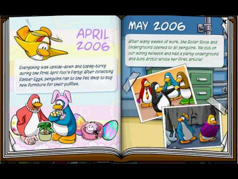 CPM: Club Penguin Memories 2005 - 09 - Part 1 of 4 - Yearbook 2005-2006