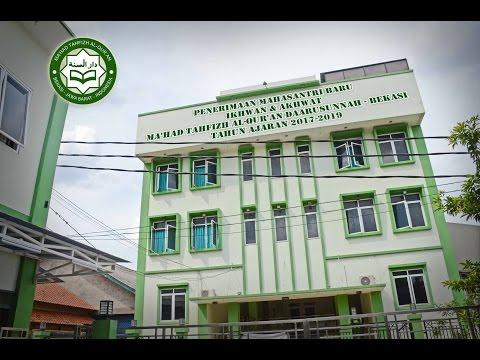 Penerimaan Mahasantri Baru Ma'had Tahfizh Al-Qur'an Daarusunnah - Bekasi tahun ajaran 2017-2019