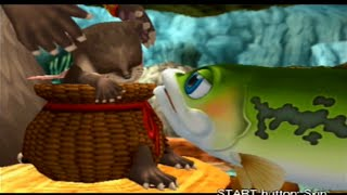 Finny the Fish & the Seven Waters - (Stage 2) Rough Riffle *Walkthrough* [PS2]