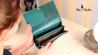 Кожаный кошелек женский оттенка морской волны Tony Perotti Topkapi Tk-3468 acqua(Вы можете купить кожаный женский кошелёк Tony Perotti Topkapi Tk-3468 по ссылке: ..., 2016-01-29T07:59:13.000Z)