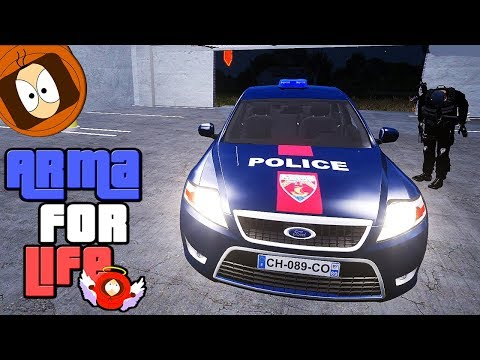POLICE NATIONALE : ATTENTION A LA HERSE ! | ARMA FOR LIFE