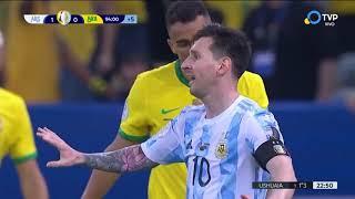 Last minutes Argentina vs Brasil Final Copa America 2021