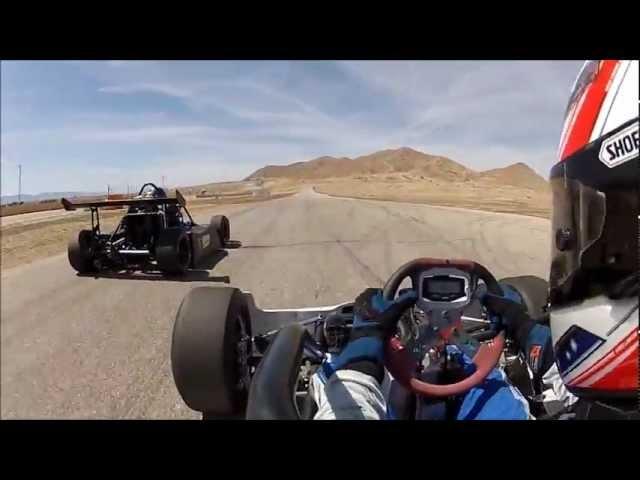 Eddie Lawson sets lap record!