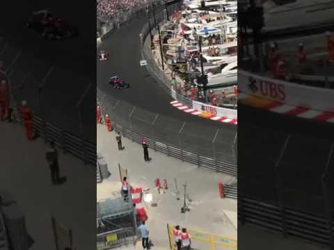 Le Ferrari di Vettel e Raikkonen sfrecciano a Montecarlo!