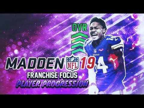 MADDEN NFL 19 FRANCHISE FOCUS: PLAYER PROGRESSION