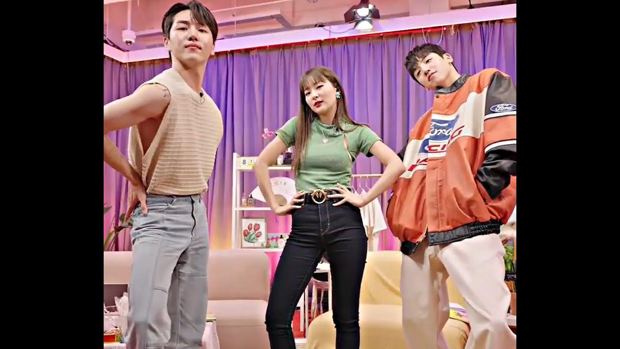Seulgi, Kino & Wooseok