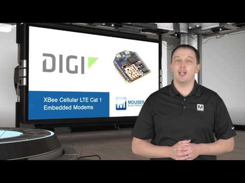 Digi Xbee Cellular LTE Cat 1 | New Product Brief - YouTube