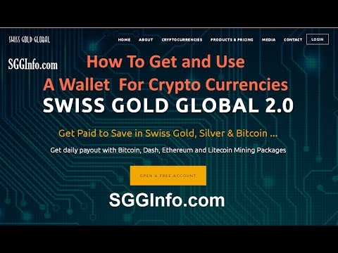 How To Get And Use A Crypto Currency Wallet  - Quick Basics
