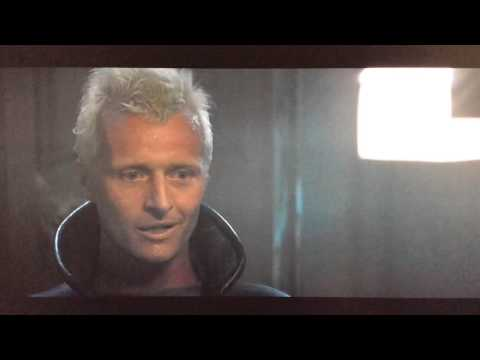 """Gosh, you've really got some nice toys here."" (Blade Runner quote, Roy Batty, Rutger Hauer)"