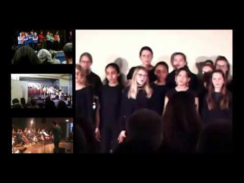 Classe CHAM Vocale . collège Charcot - Le Trait