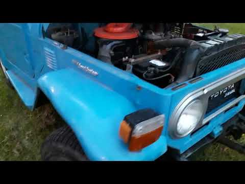 Toyota Landcruiser BJ40 (FJ40) 1978 - For Sale EBay UK No