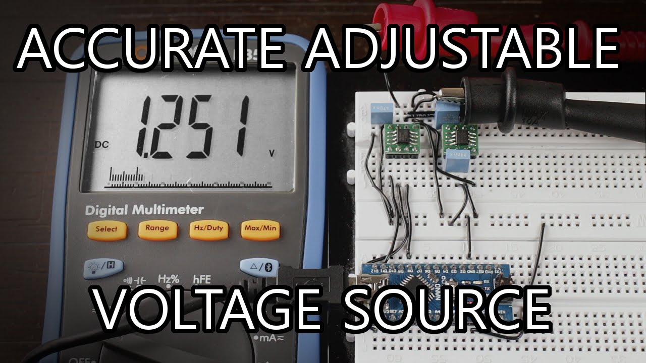 How To Make An Adjustable Voltage Source/Reference