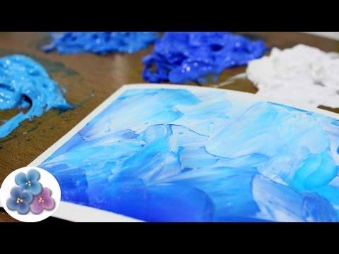 Como hacer pintura al oleo con pintura acrilica acrylic - Pintura acrilica al agua ...
