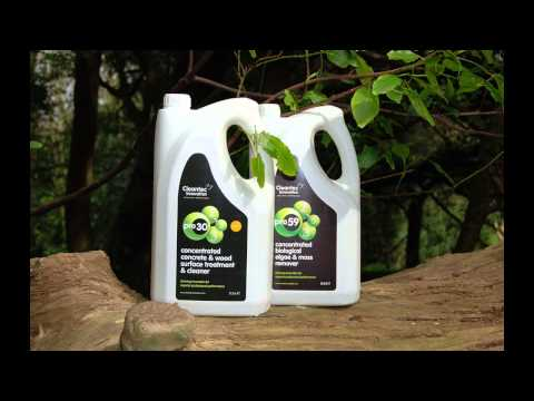 Cleantec Innovation Pro 59 Biological Algae & Moss Remover - Video Testimonial