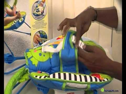 FISHER PRICE SOOTHE 'N PLAY BOUNCER