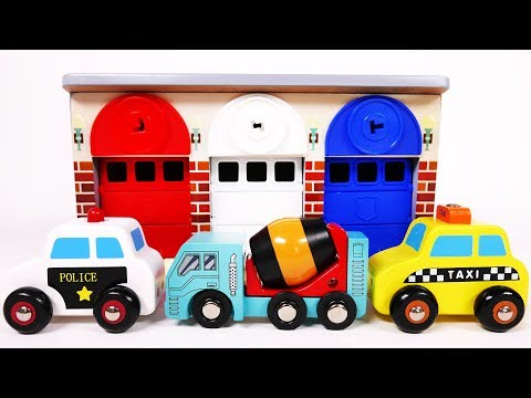 Garage Parking Playset for Children Toy Vehicles for Kids