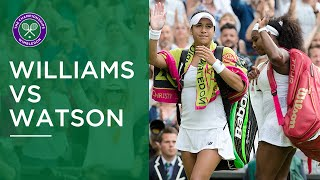 Best Points From Serena Williams Vs Heather Watson | The Greatest Championships