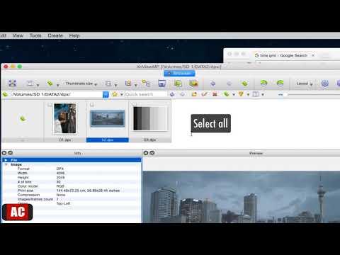 Batch Convert .DPX To .JPG On Mac-XnViewMP