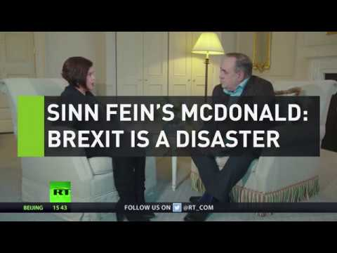 Sinn Fein's McDonald: Brexit is a disaster