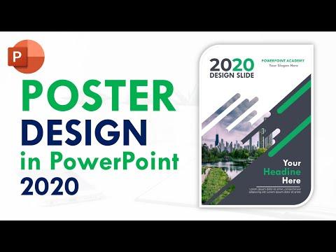 Hướng dẫn thiết kế Poster Siêu đẹp trong Powerpoint 365