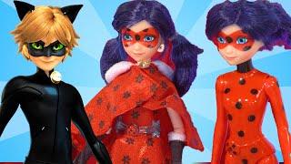 НОВАЯ кукла ЛЕДИ БАГ Нарядное Платье и Настоящий СУПЕР КОТ | Обзор Игрушки Для Девочек | #Toy.ru